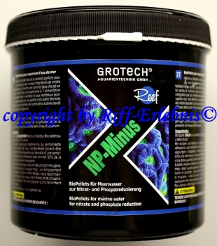 GroTech NP-Minus 500ml BioPellets  53,80€/L