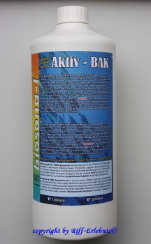 Aktiv-Bak 1000ml Aqua Light 19,95€/L