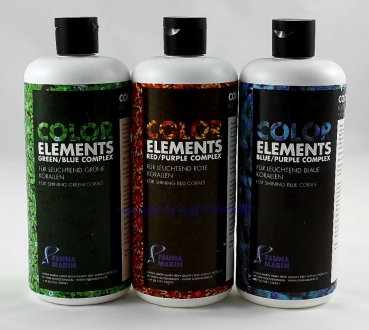 Ultra Color Elements 3 x 500ml im Set Fauna Marin 39,30€/L